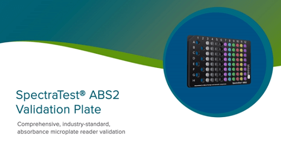 Plaque de validation SpectraTest ABS2