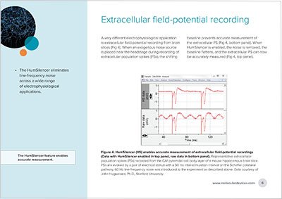 Extracellular field potential recording