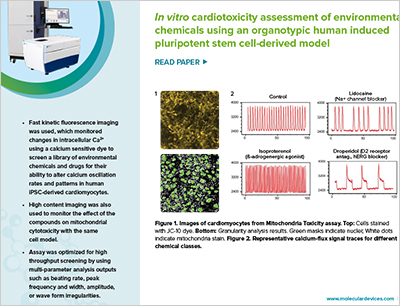 In vitro cardiotoxicity assessment