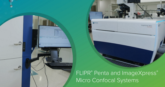 FLIPR Penta and ImageXpress Micro Confocal Systems